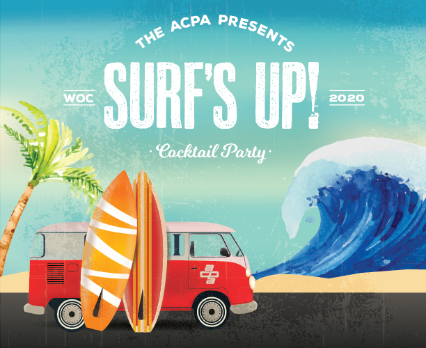 """ACPA """"Surf's Up!"""" Cocktail Party at World of Concrete 2020"""
