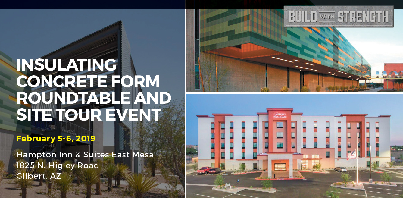 Insulating Concrete Form Roundtable and Site Tour Event