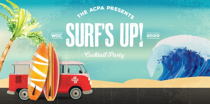 ACPA Surf's Up Cocktail Party at World of Concrete 2020