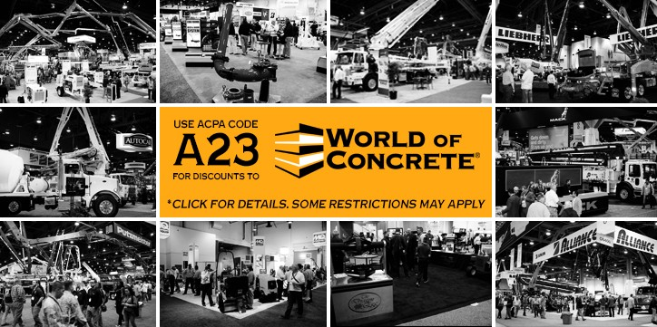 World of Concrete 2019 Discounted Registration
