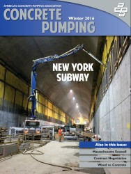 Concrete Pumping Magazine - Winter 2016