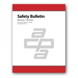 Safety Bulletin: Electricity—The Rules