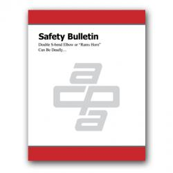 "Safety Bulletin: Double S-bend Elbow or ""Rams Horn"" Can Be Deadly…"