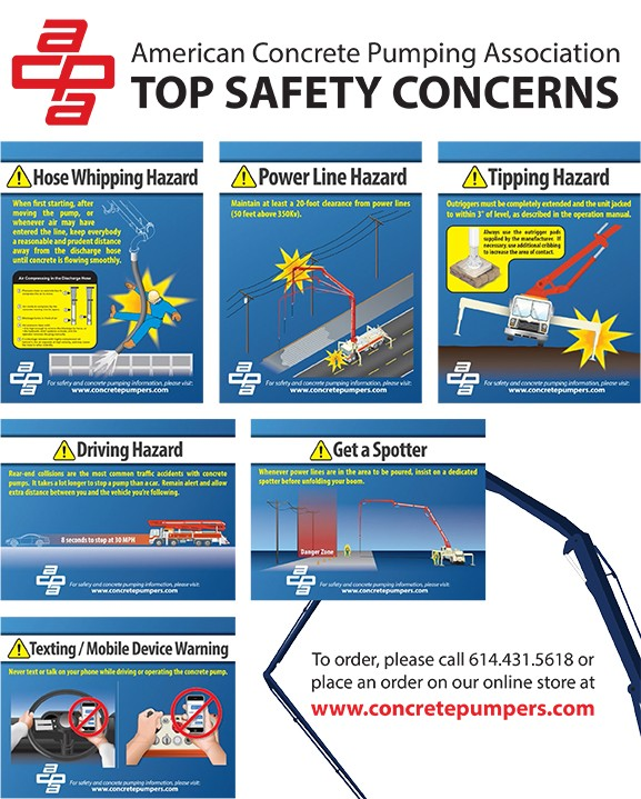 Safety Posters American Concrete Pumping Association