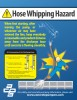 Hose Whipping Hazard