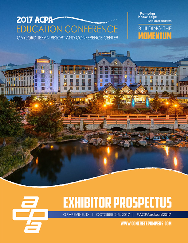 ACPA Education Conference Exhibitor Prospectus