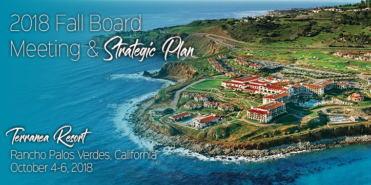 2018 Fall Board Meeting & Strategic Plan