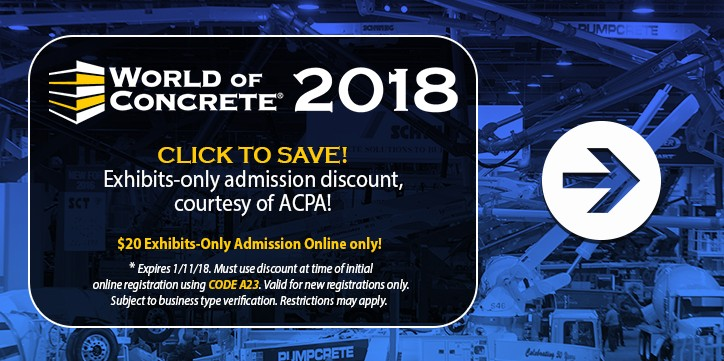 WOC 2018 Discounted Admission Offer