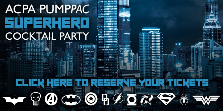 ACPA PumpPAC Superhero Cocktail Party Tickets